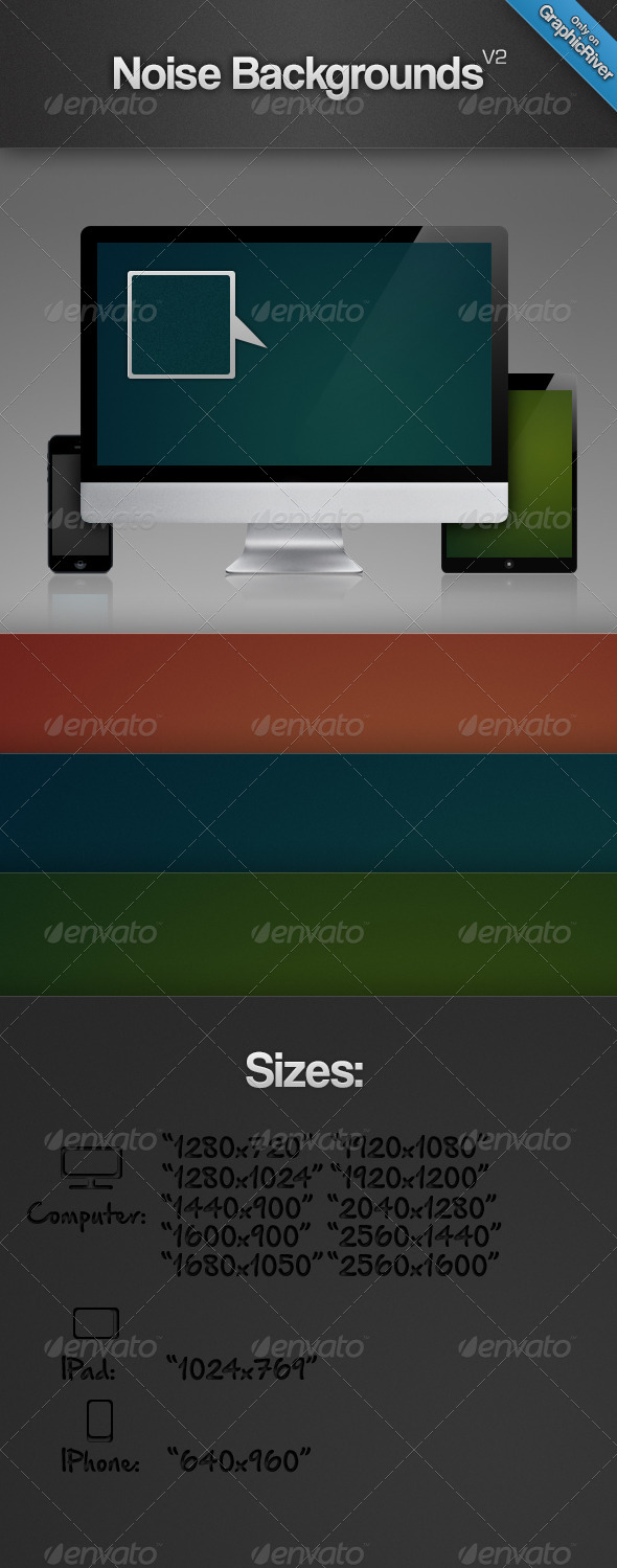 GraphicRiver Noise Backgrounds V2 8012383