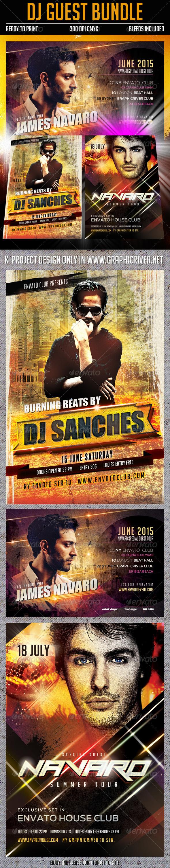 GraphicRiver DJ Guest Bundle 8012749