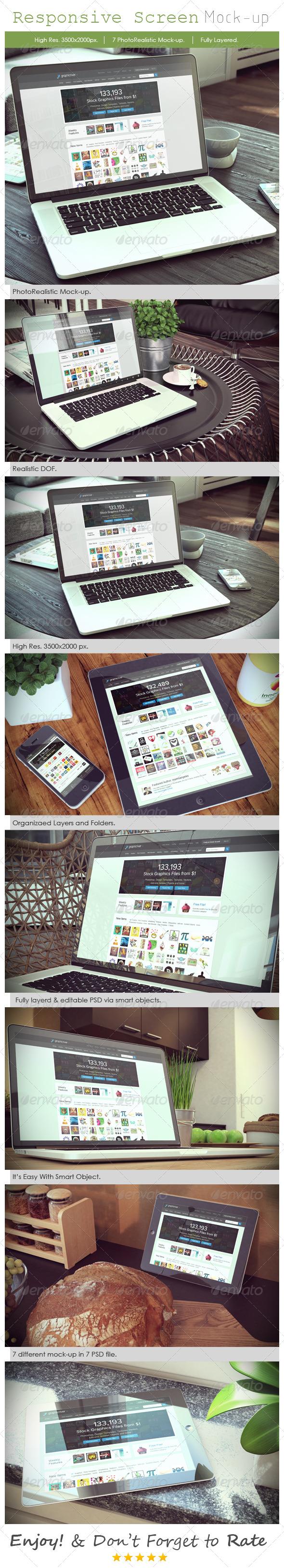 GraphicRiver Responsive Device Mockup V3 8012768