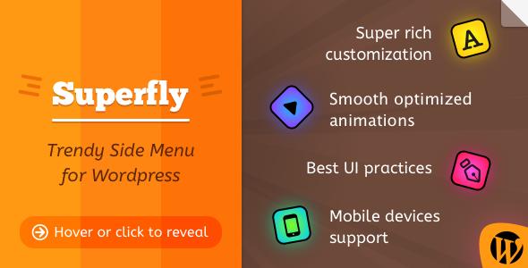 CodeCanyon Superfly Responsive WordPress Menu Plugin 8012790
