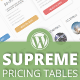 Supreme Pricing Tables - WordPress Plugin - CodeCanyon Item for Sale