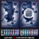 Liquid Bass Flyer Template - GraphicRiver Item for Sale