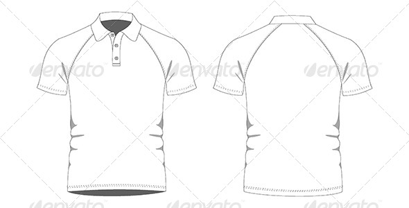 Mens Polo Shirts Template