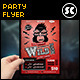 Wild Bash Party Flyer - GraphicRiver Item for Sale