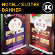 Hotel / Suites Banner - GraphicRiver Item for Sale