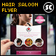 Hair Style Saloon Flyer / Magazine Ads - GraphicRiver Item for Sale