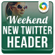 Weekend Sale Twitter Header - GraphicRiver Item for Sale