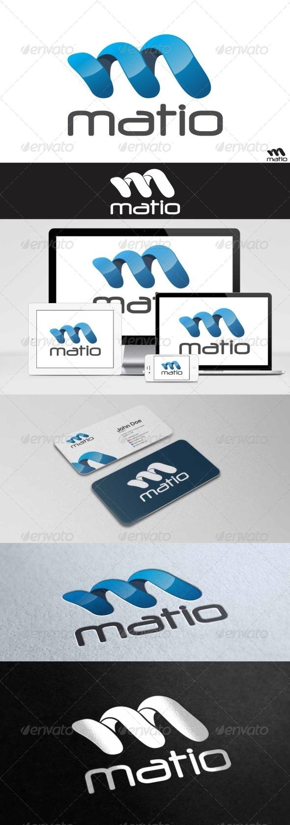GraphicRiver Matio Logo 8013538