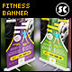 Fitness And Gym Banner - GraphicRiver Item for Sale