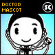 Hand Drawn Doctor Mascot - GraphicRiver Item for Sale
