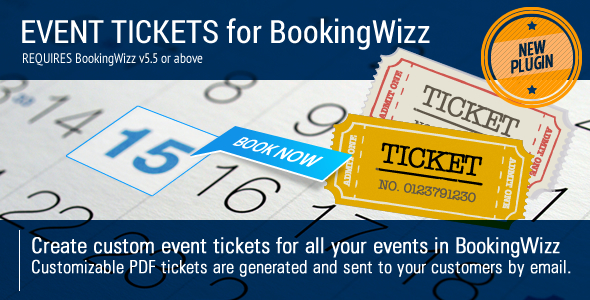 CodeCanyon BookingWizz Event Tickets 8013985