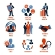 Business and Management Icons Set - GraphicRiver Item for Sale