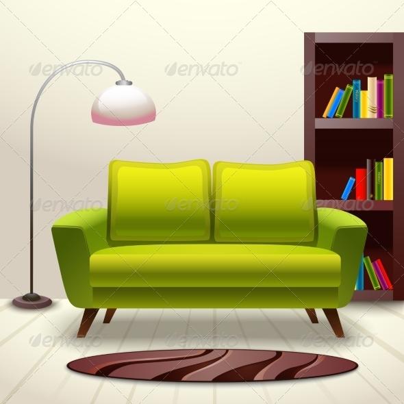 GraphicRiver Interior Design Sofa 8014052