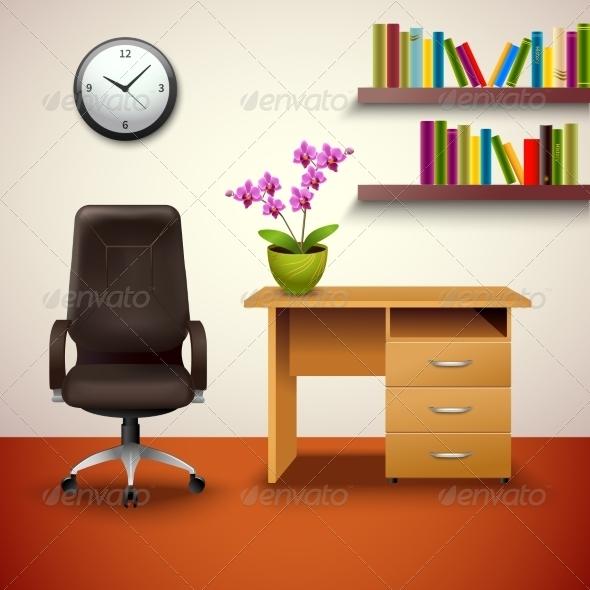 GraphicRiver Interior Design Cabinet 8014059