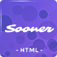 Sooner - Responsive Coming Soon Template