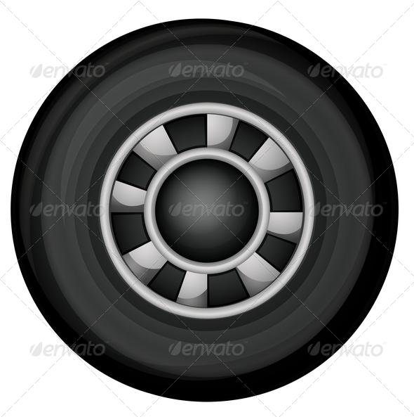 GraphicRiver Car Wheel 8014601