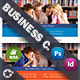 School Book Business Card Templates - GraphicRiver Item for Sale
