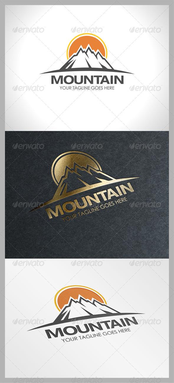 GraphicRiver Mountain Logo 8014652