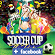 Soccer After Party on Facebook Timeline Cover - GraphicRiver Item for Sale