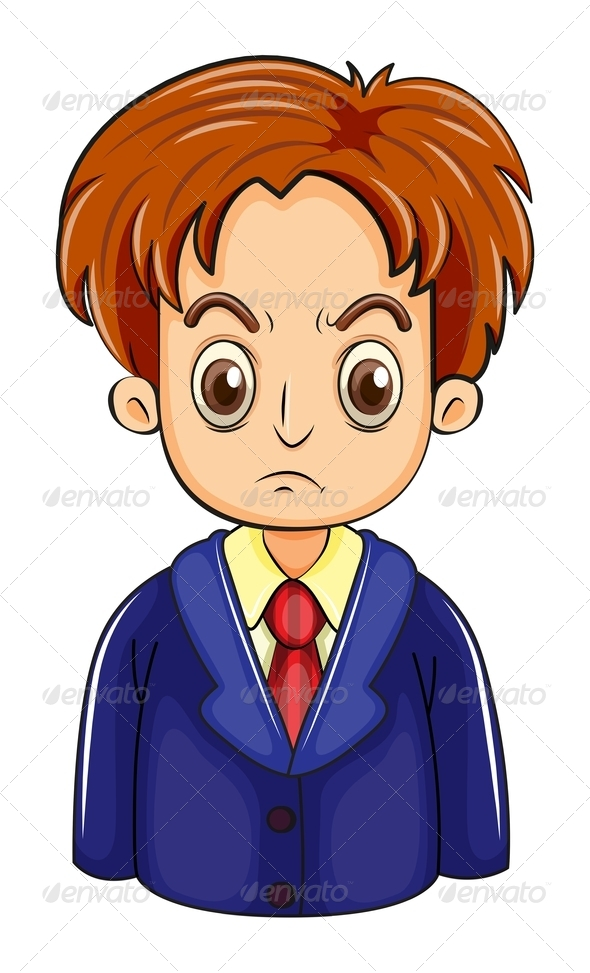 GraphicRiver Angry Businessman 8014972