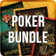 BUNDLE Poker Magazine Ad, Poster or Flyer 19 PSDs - GraphicRiver Item for Sale