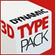 3D Dynamic Typography Pack - VideoHive Item for Sale