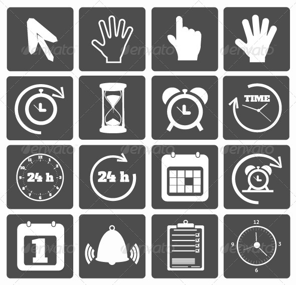GraphicRiver Set of Business Icons 7896470