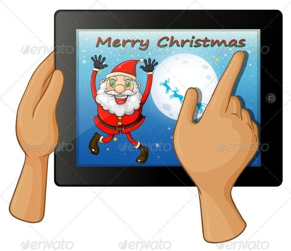 GraphicRiver Christmas Touch Pad 8015939