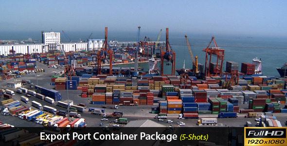 Export Port Container Package