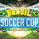 Brazil Soccer Cup 2014 Flyer Template - GraphicRiver Item for Sale