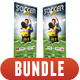 3 in 1 Sport Rollup Banner Bundle 04 - GraphicRiver Item for Sale
