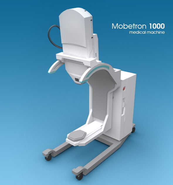 3DOcean The Mobetron 1000 medical machine 8016552