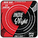 Indie Night - Flyer [Vol.22] - GraphicRiver Item for Sale