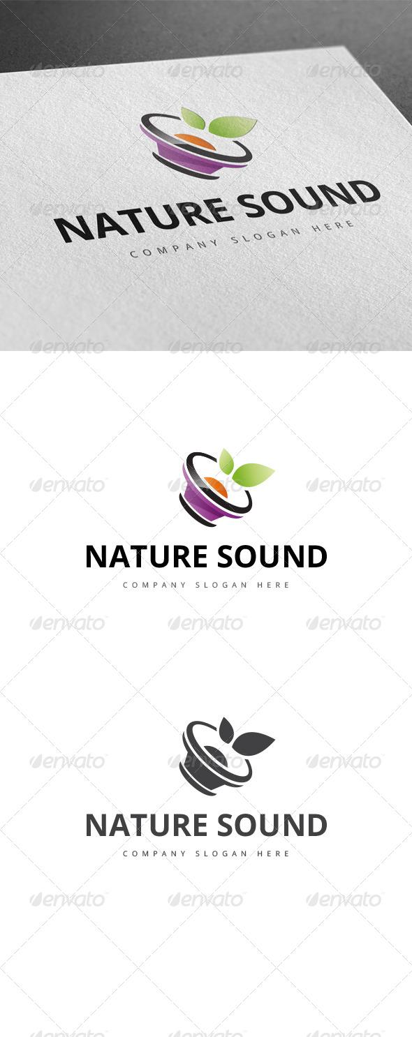 GraphicRiver Nature Sound Logo 8003155