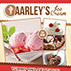 Ice Cream Flyer / Magazine Ad - GraphicRiver Item for Sale