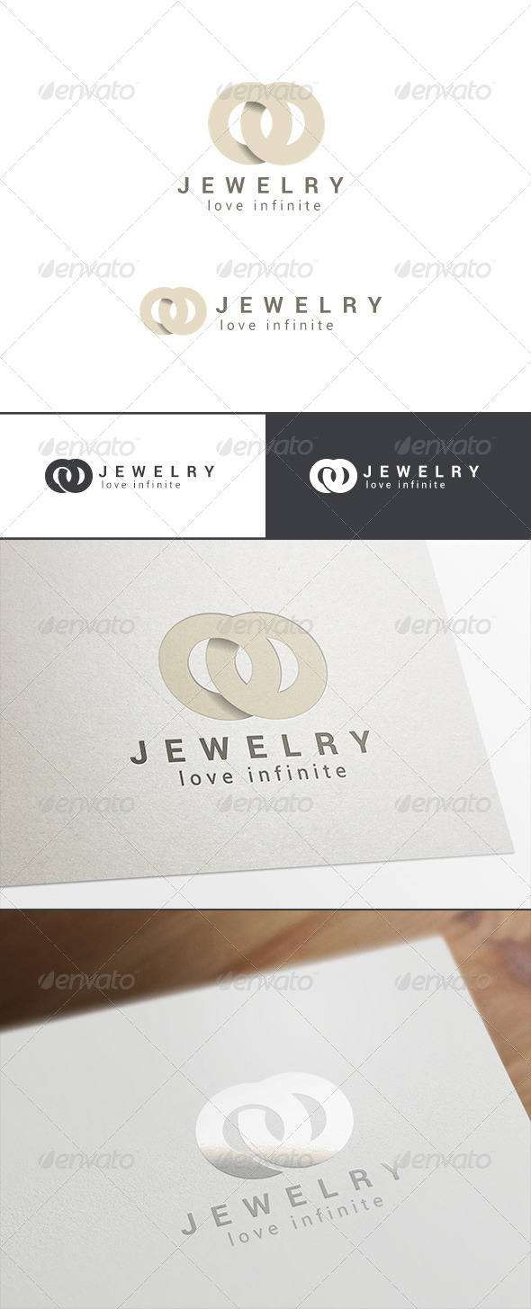 GraphicRiver Fashion Jewelry Logo Abstract 8007098