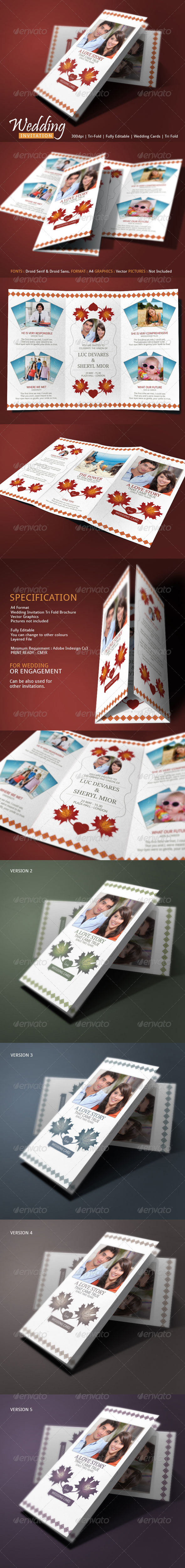 GraphicRiver Wedding Cards Revealed 8008346