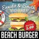 Beach Burger Flyer - GraphicRiver Item for Sale