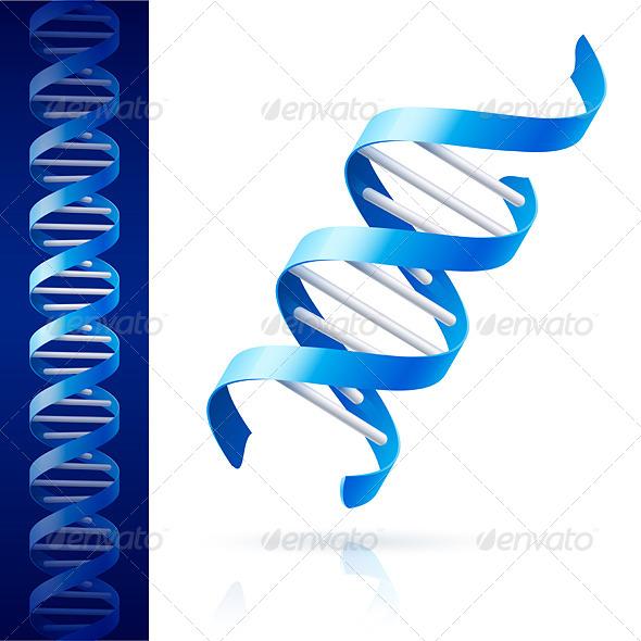 GraphicRiver Blue DNA 8017555