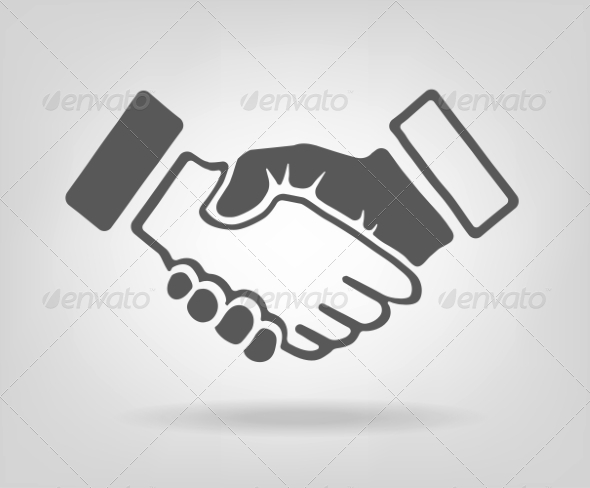 GraphicRiver Handshake Illustration 8018168