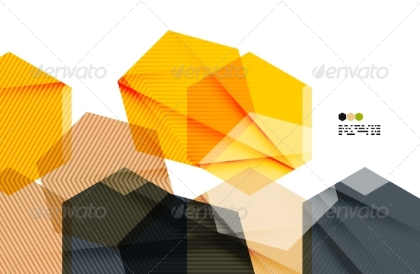 GraphicRiver Bright Geometric Modern Design 8018530