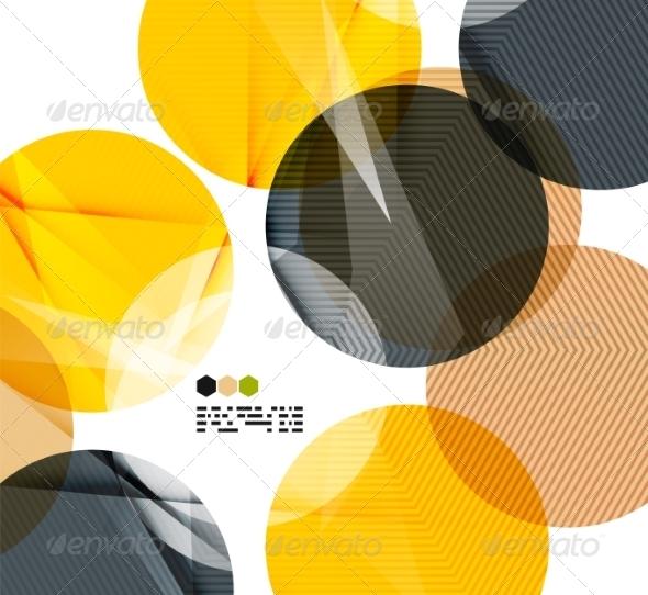 GraphicRiver Bright Geometric Modern Design 8018532