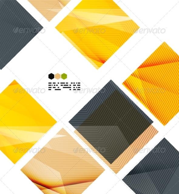 GraphicRiver Bright Geometric Modern Design 8018538