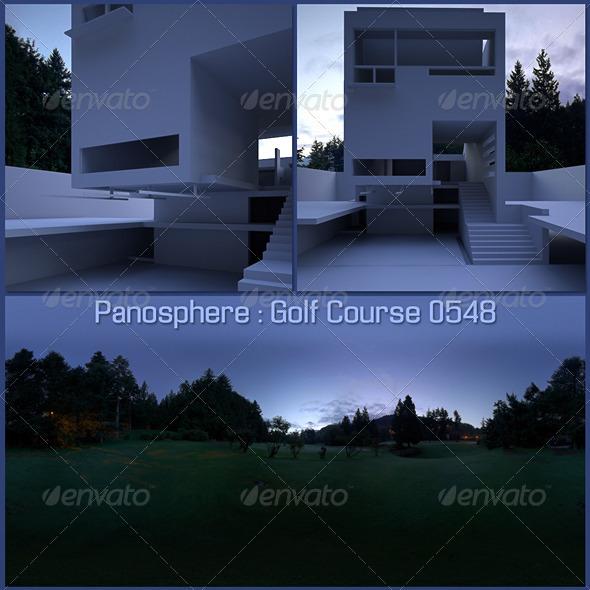 3DOcean Panosphere HDRI Golf Course 0548 818168