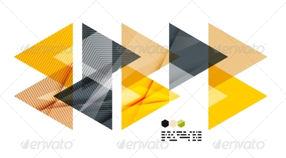 GraphicRiver Bright Geometric Modern Design 8018566