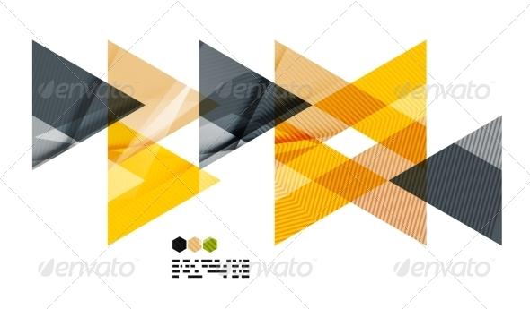 GraphicRiver Bright Geometric Modern Design 8018569