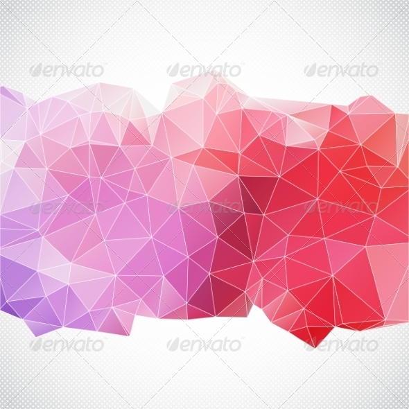 GraphicRiver Abstract Background with Triangles 8018661