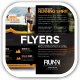 Runn Marathon Running Club Fitness Flyers - GraphicRiver Item for Sale