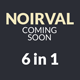 NOIRVAL - Classy 6 in 1 Coming Soon - ThemeForest Item for Sale