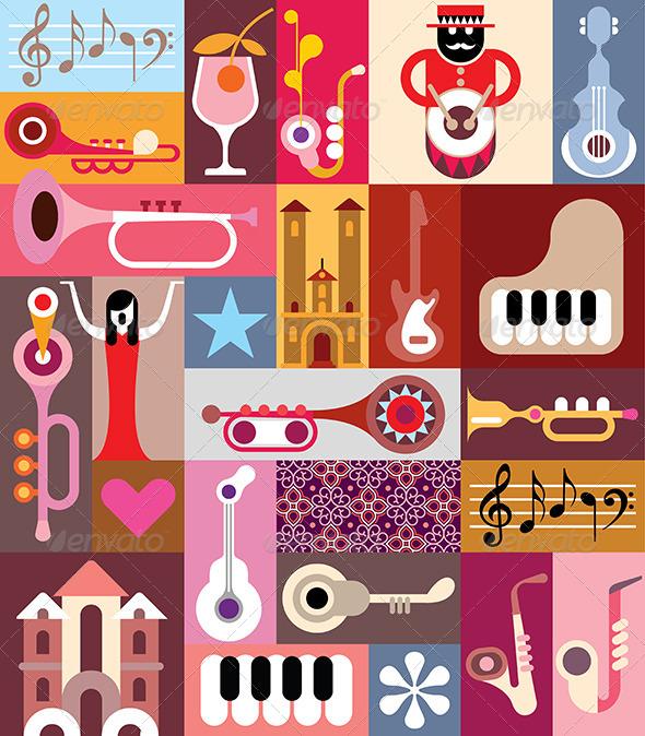 GraphicRiver Music Graphic Design 8019017